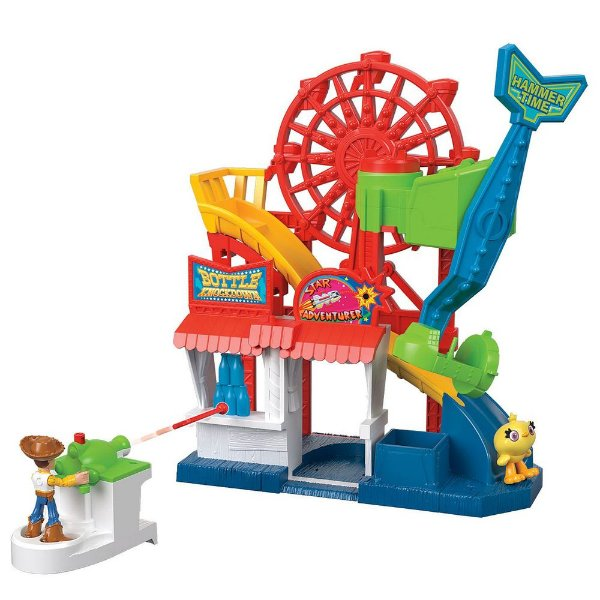 Parque Divertido Toy Story 4 - Imaginext