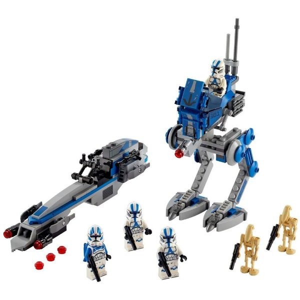 Lego Star Wars - Soldados Clone da Legião 501ª - Lego