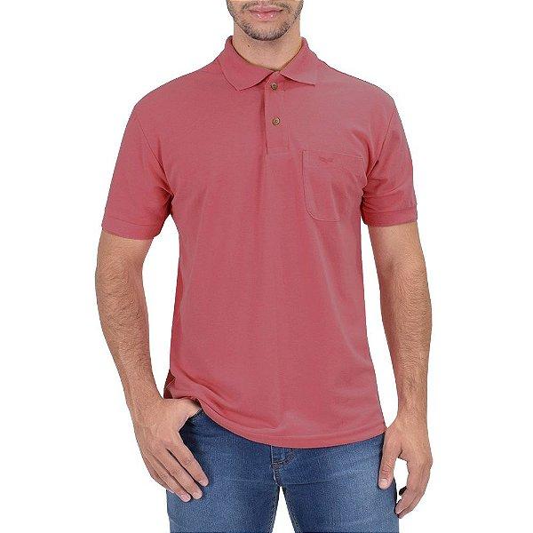 Camisa Polo Masculina - Rosa Quartzo 676 - Wayna