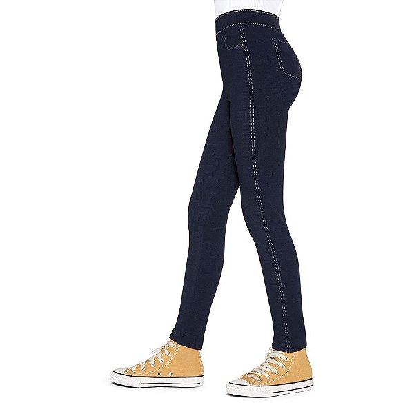 Meia Calça Legging Jeans Lupinho - 150 fios - Lupo