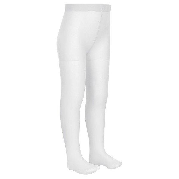 Meia Calça Infantil Lobinha - Branco - Fio 20 - Lupo