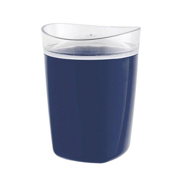 Porta Algodão Tule - Azul - Ou