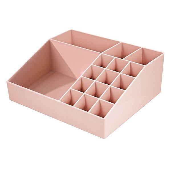 Organizador Multiuso - Rosa - Jacki Design