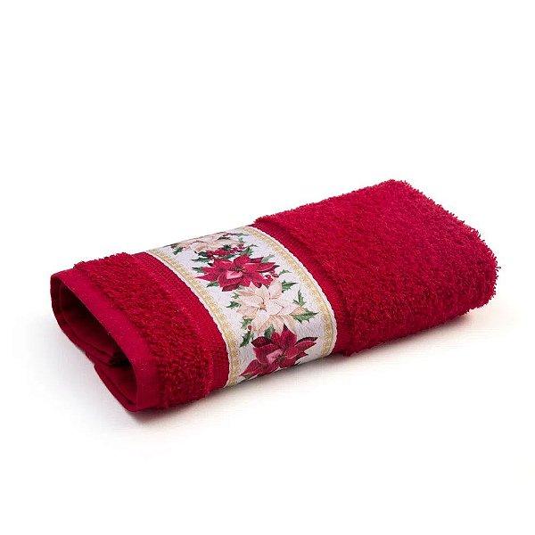 Toalha de Lavabo Vermelha - Magia do Natal - Karsten