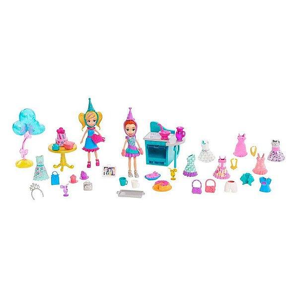 Polly Pocket - Conjunto de Festa - Polly e Lila - Mattel