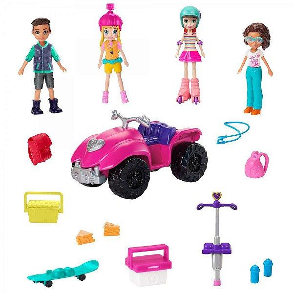 Polly Pocket - Diversão com Amigos - Polly - Mattel