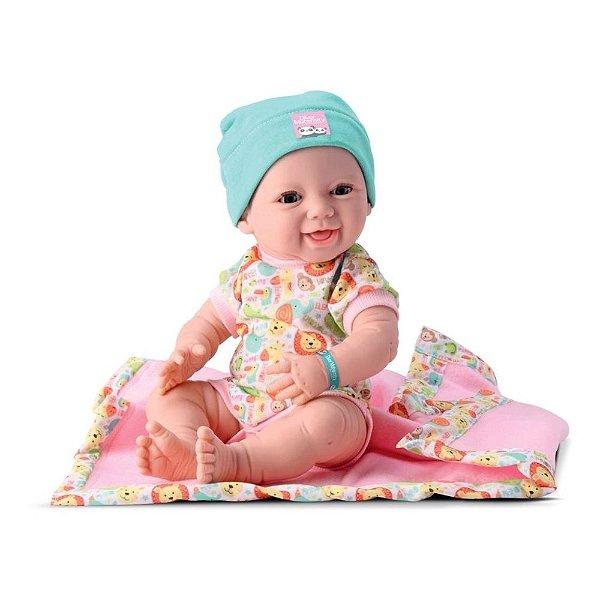 Boneca New Born Maternidade e Teste do Pezinho - Divertoys