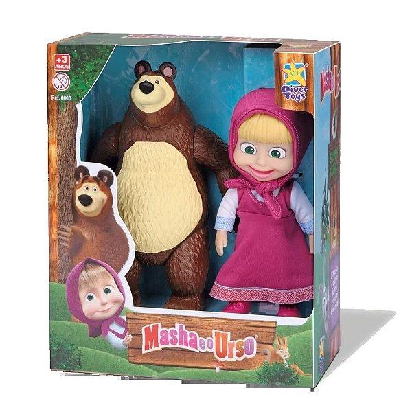 Bonecos Masha e o Urso - Divertoys