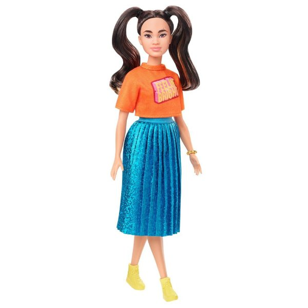 Barbie Fashionista Saia Brilhante 145 - Mattel