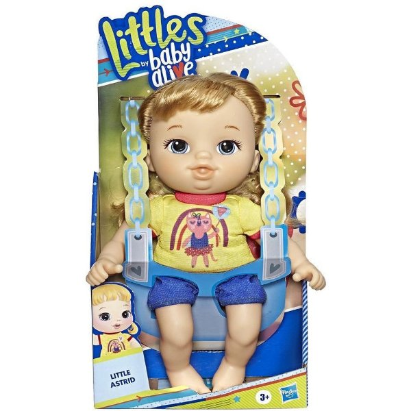 Boneca Baby Alive - Littles By Baby - Little Astrid - Hasbro