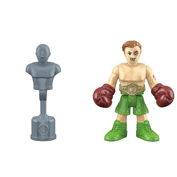 Imaginext Mini Figura Com Acessórios - Boxeador - Fisher-Price