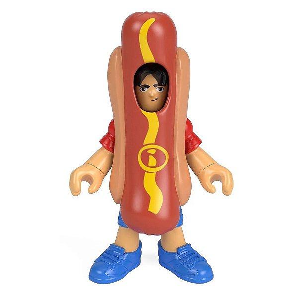 Imaginext Mini Figura Com Acessórios - Homem Hot Dog - Fisher-Price
