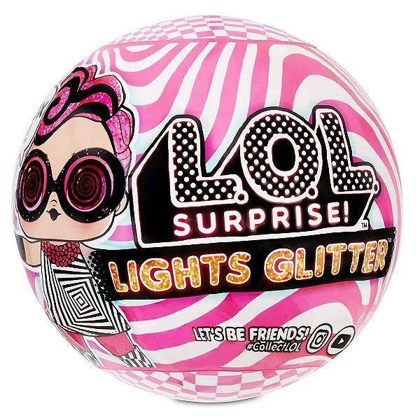 Lol Surprise Lights Glitter - 8 Surpresas - Candide