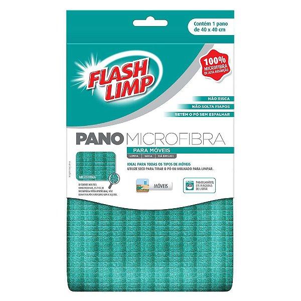 Pano Microfibra para Móveis - Flash Limp