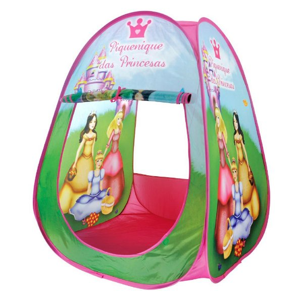 Barraca Portátil Infantil Piquenique das Princesas - DM Toys