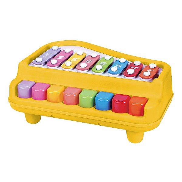 Piano Xilofone Baby - Dm Toys