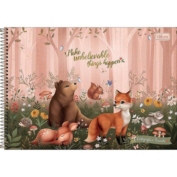 Caderno de Cartografia e Desenho Loveland - Faça Acontecer - Tilibra