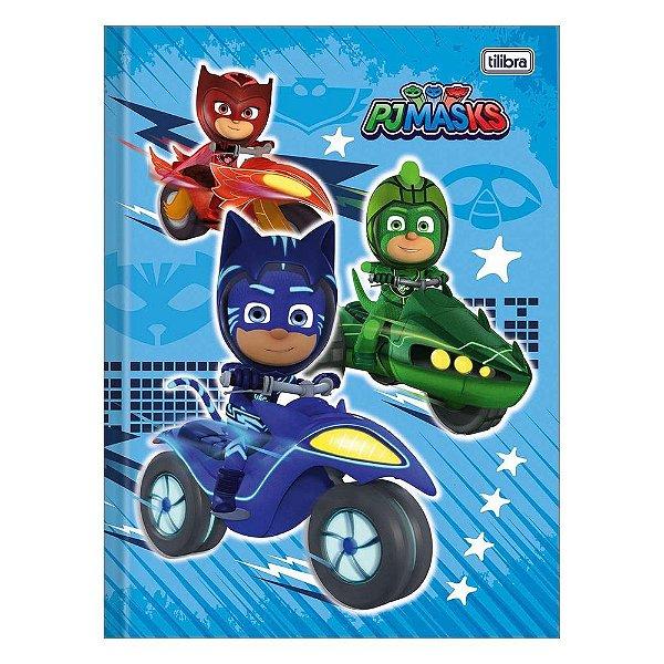 Caderno Brochura Pj Masks - Cars - Tilibra