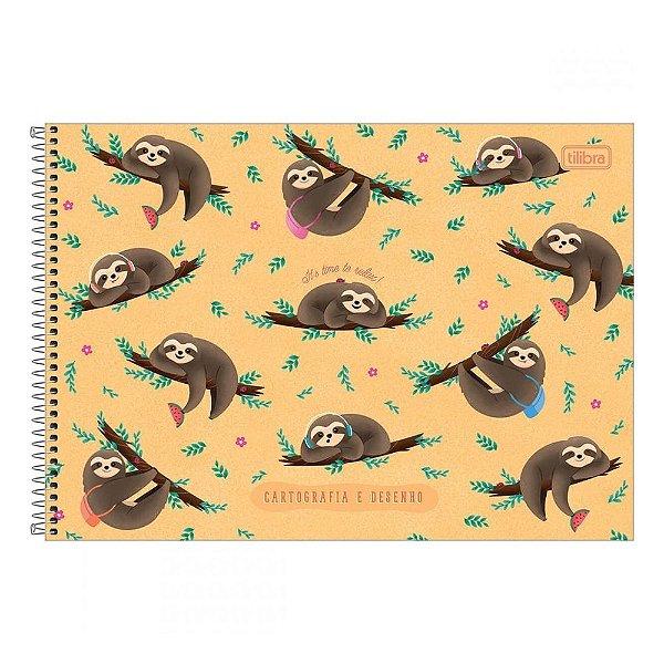 Caderno de Cartografia e Desenho Nap Nap - Relax - Tilibra