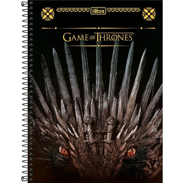Caderno Game Of Thrones - Trono - 80 folhas - Tilibra