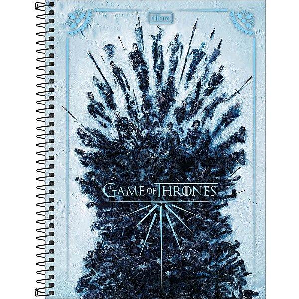 Caderno Game Of Thrones - Batalha - 80 folhas - Tilibra