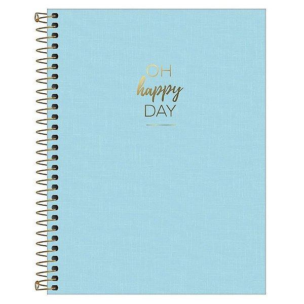 Caderno Colegial Happy - Hapy Day - 160 Folhas - Tilibra