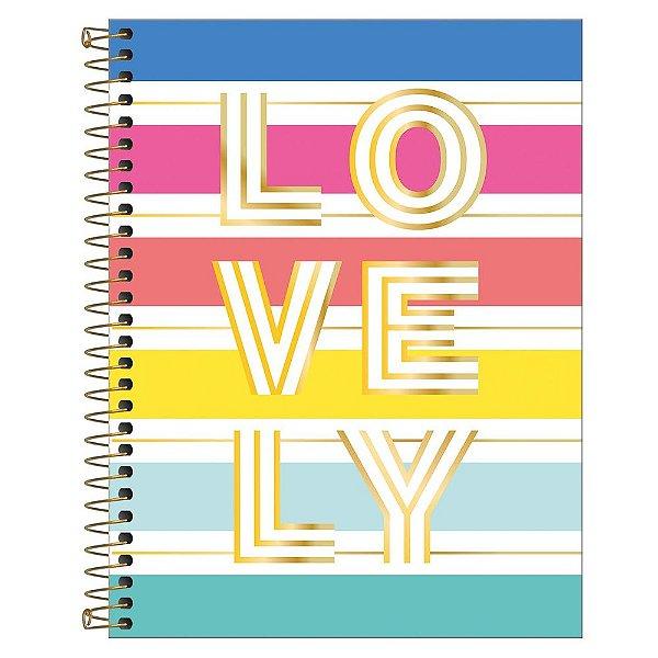 Caderno Colegial Be Nice - Lovely - 160 Folhas - Tilibra