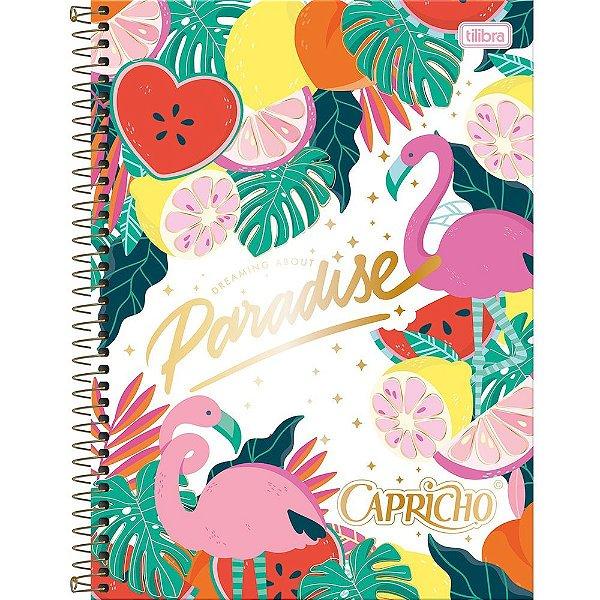 Caderno Capricho - Paradise - 80 folhas - Tilibra