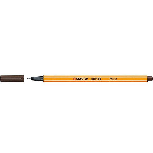Caneta Fineliner Point 88/65 - Marrom - Stabilo