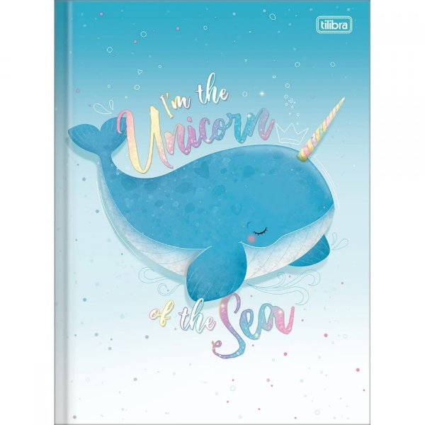 Caderno Brochura Bubble - I'm The Unicorn - 80 Folhas - Tilibra