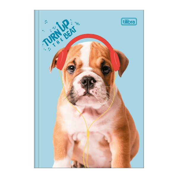 Caderno Pequeno 1/4 Hug Me - Headphone - Tilibra