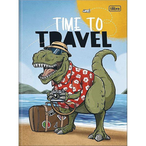 Caderno Brochura Raptor - Travel - 80 Folhas - Tilibra