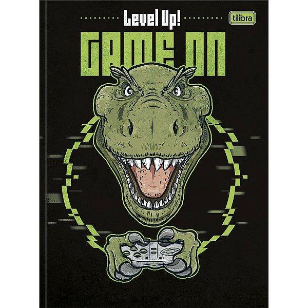 Caderno Brochura Raptor - Game - 80 Folhas - Tilibra