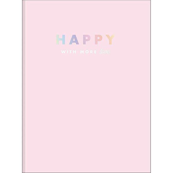 Caderno Brochura Happy - Love - 80 Folhas - Tilibra
