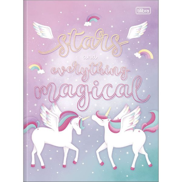 Caderno Brochura Blink - Magical - 80 Folhas - Tilibra