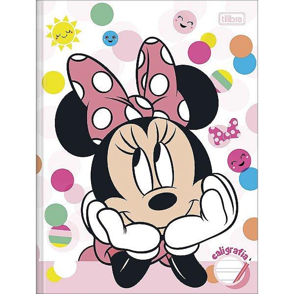 Caderno de Caligrafia Minnie Mouse - 40 Folhas - Tilibra