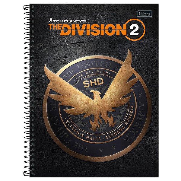 Caderno The Division - SHD - 80 Folhas - Tilibra