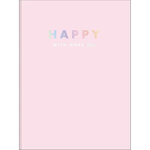 Caderno Brochura Happy - Love - 48 Folhas - Tilibra