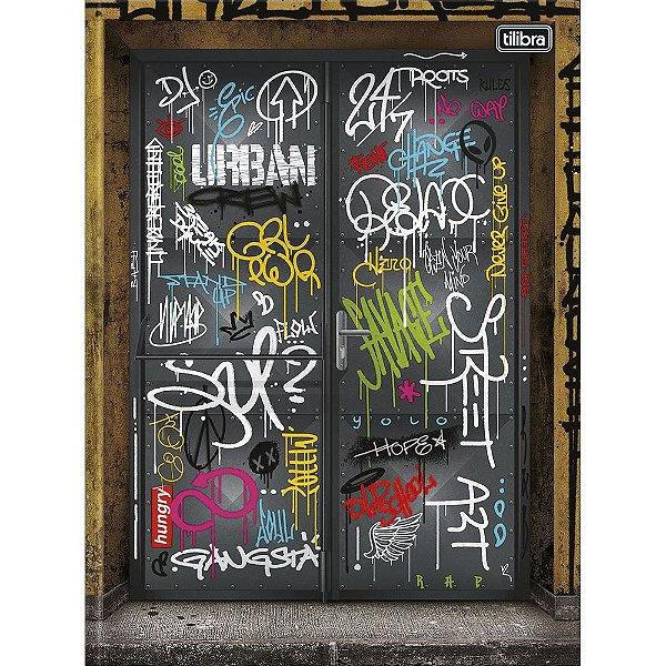 Caderno Brochura Graffiti - Door - 80 Folhas - Tilibra