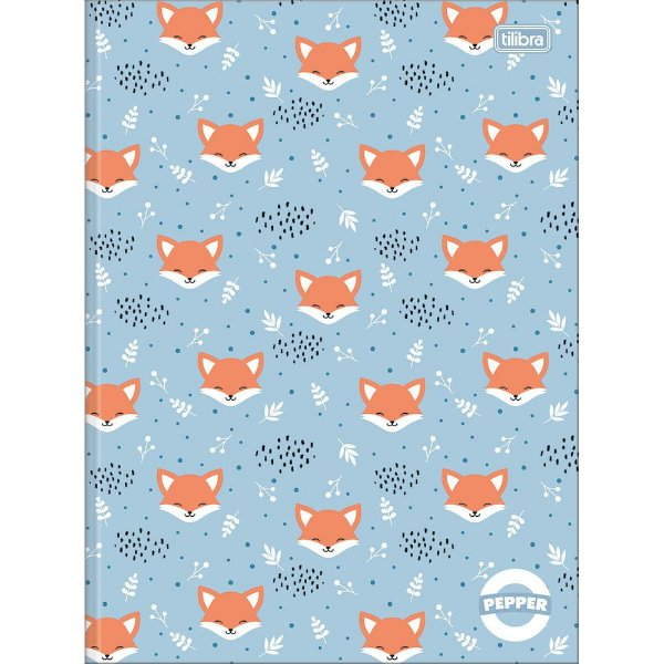 Caderno Pepper - Raposinha - 80 Folhas - Tilibra