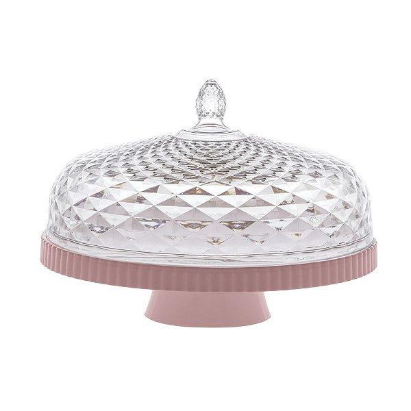 Boleira Luxxor 33 cm - Rosa - Paramount