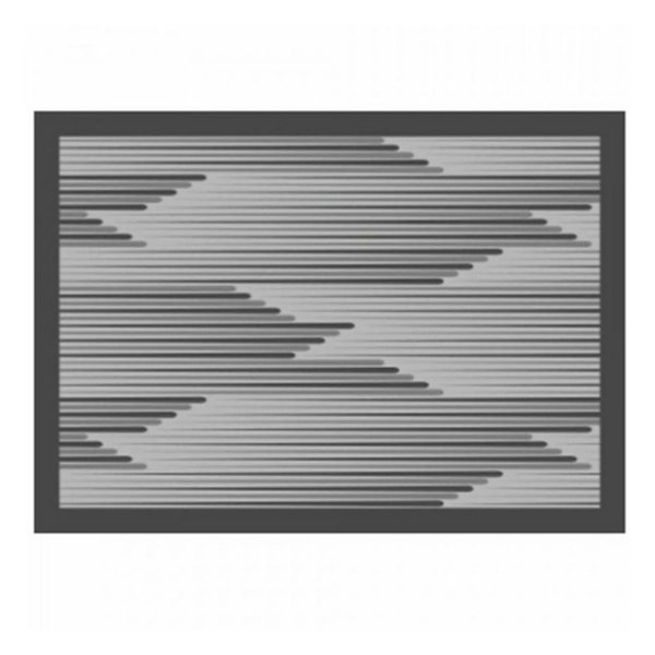 Tapete de Cozinha 50cm x 70cm - Concentric - Kacyumara