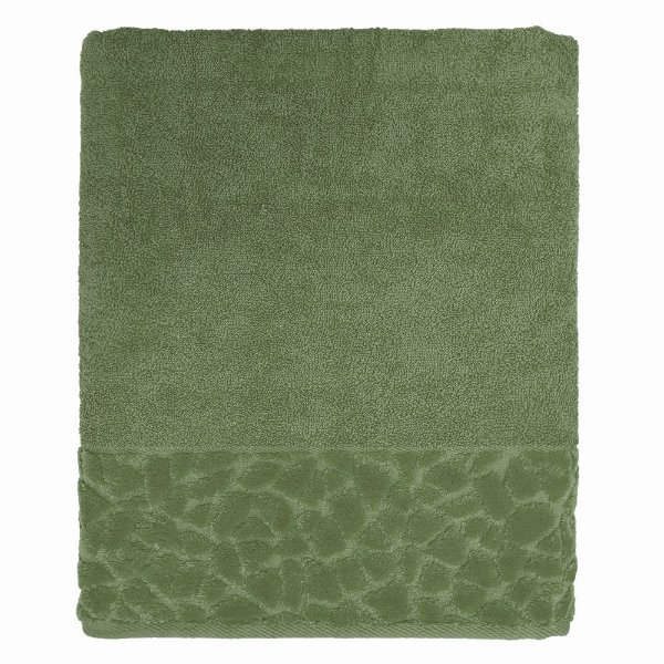 Toalha de Banho Jacquard Confort - Verde 11436 - Döhler