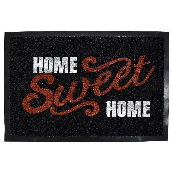 Capacho Dizeres 40cm x 60cm - Home Sweet Home - Camesa