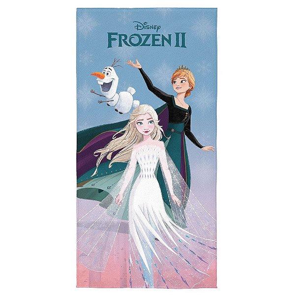 Toalha Aveludada Transfer Frozen - Lepper
