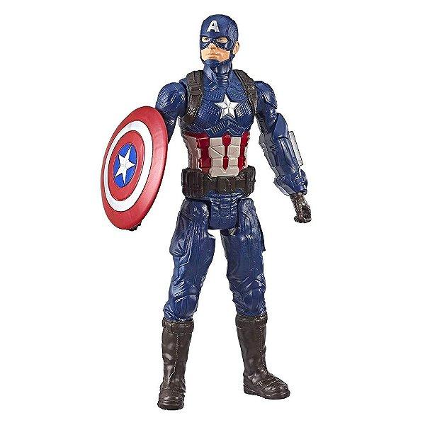 Boneco Avengers Endgame - Capitão América - Hasbro