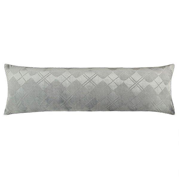 Fronha Para Body Pillow Blend Elegance - Beton Chess - Altenburg
