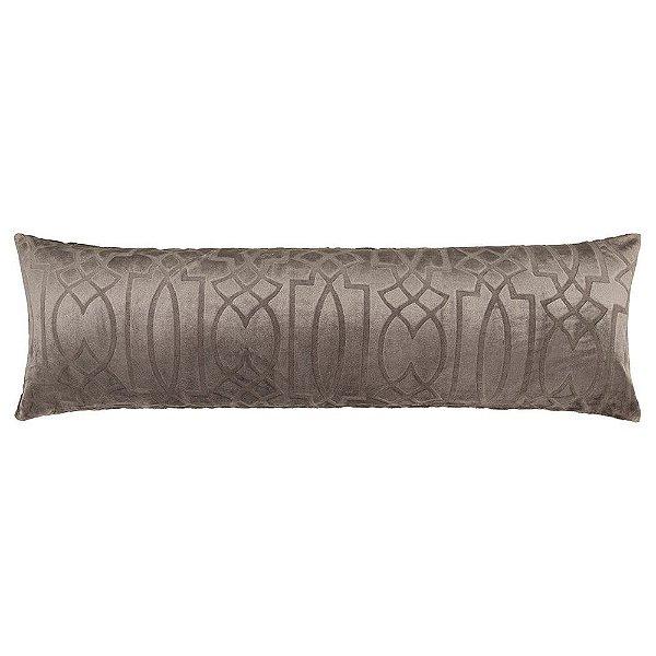 Fronha Para Body Pillow Blend Elegance - Ornamental Grid - Altenburg