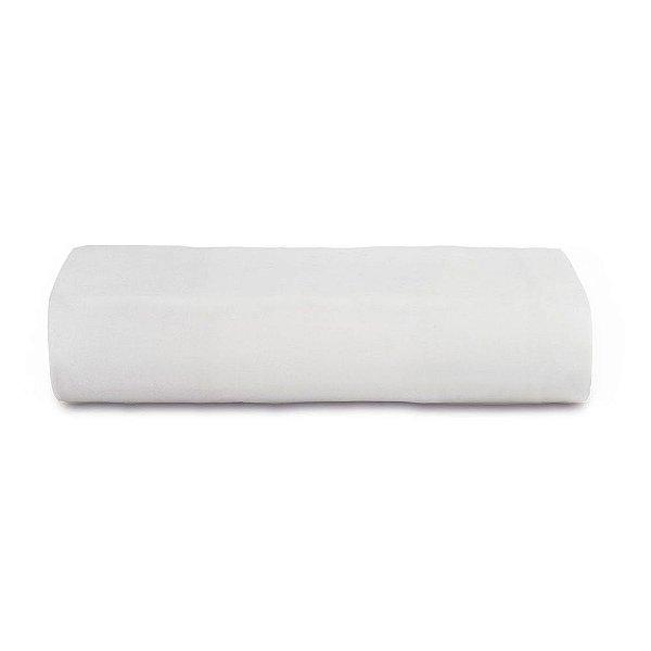 Lençol Com Elástico Malha In Cotton Casal - Branco - Altenburg