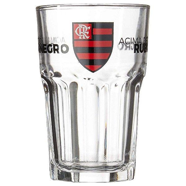 Copo de Vidro Bristol Flamengo - 520ml - Brasfoot